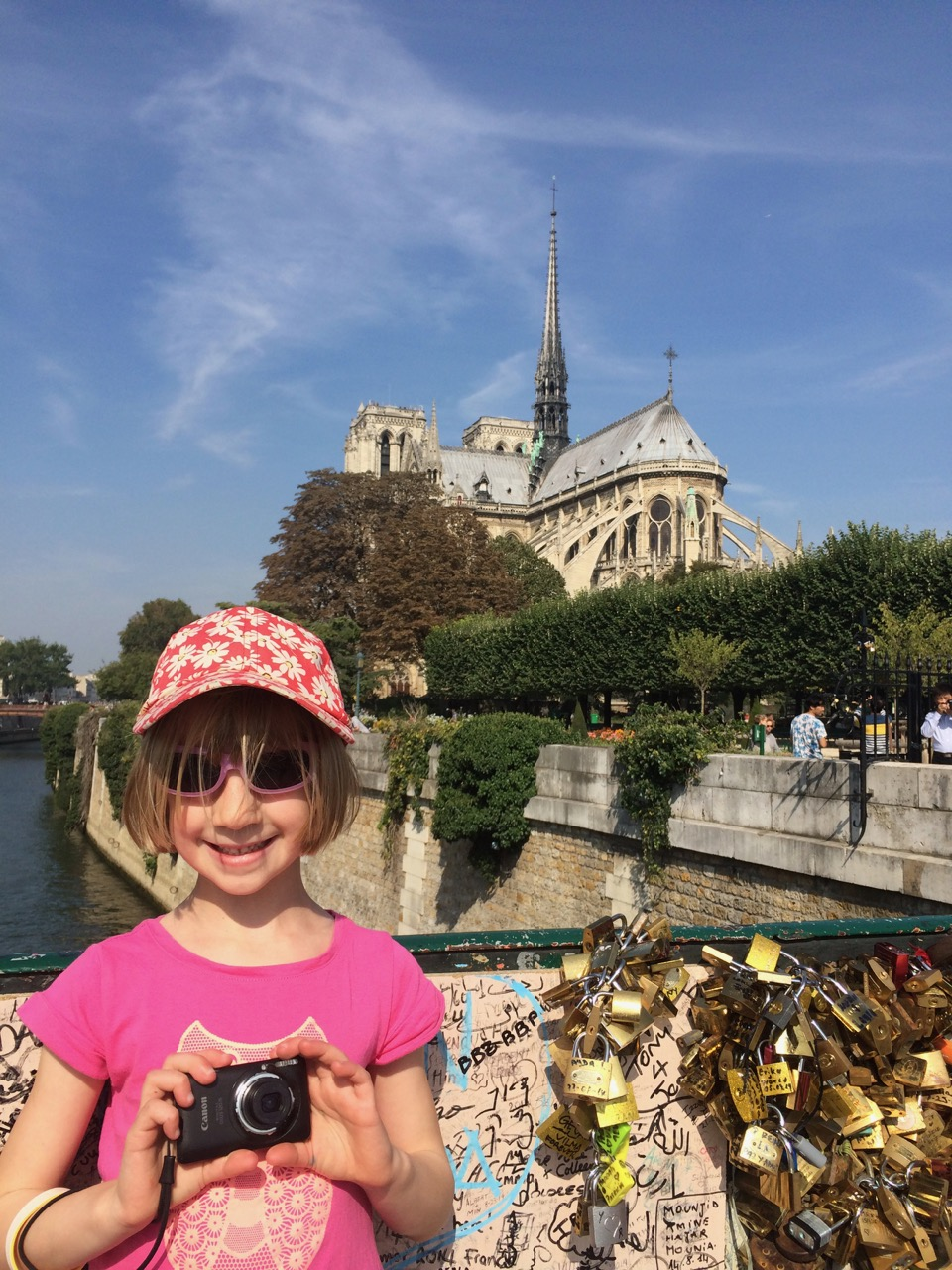 Lucy at Notre Dame