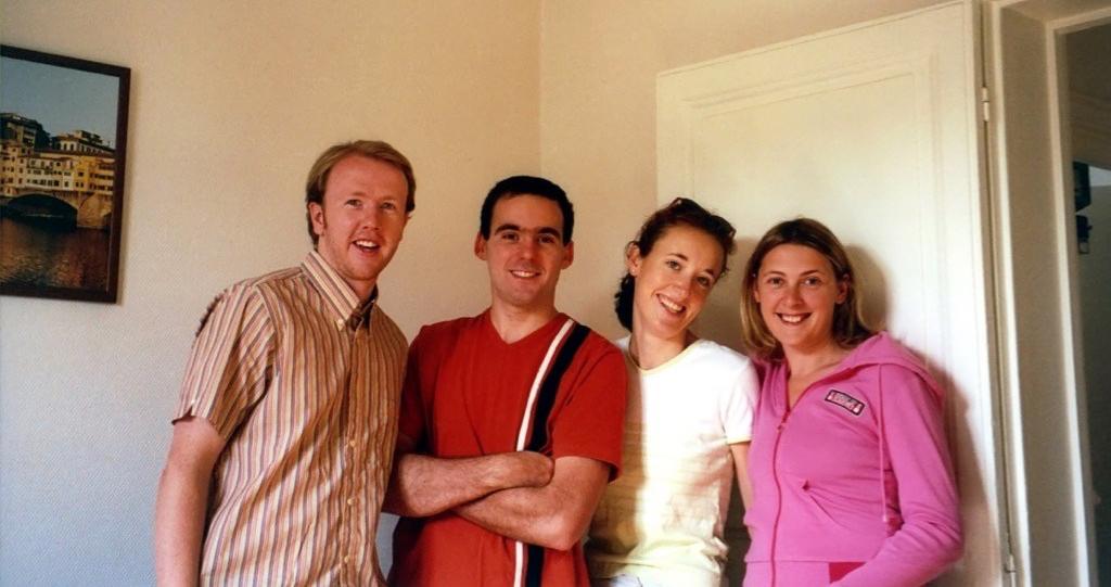 Svet, Andrew, Laurent and Agnes in Paris