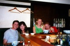 Drunk me in Japan - 2002