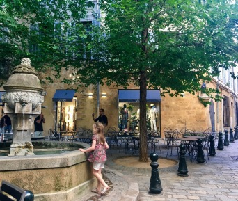 Aix-en-Provence is famous for its fountains