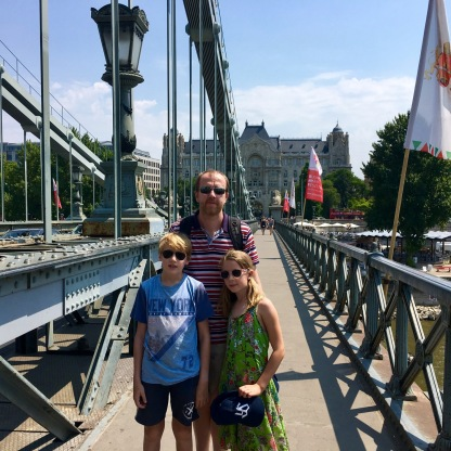 The bridges connecting Buda and Pest are destinations in and off themselves