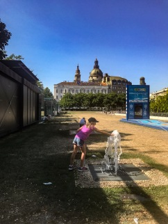 The fountains of Budapest
