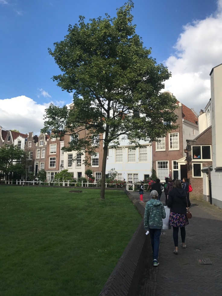 The alms house in Amsterdam