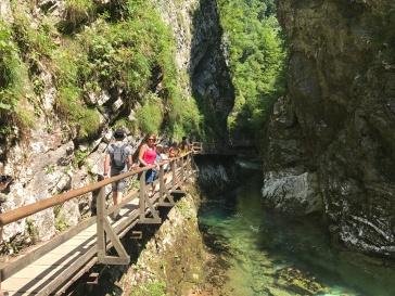 Vintgar Gorge was gorge-ous
