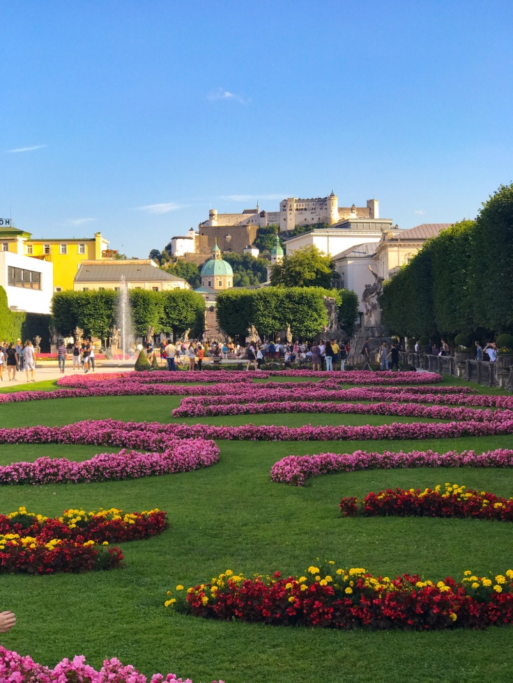 A beautiful Salzburg garden