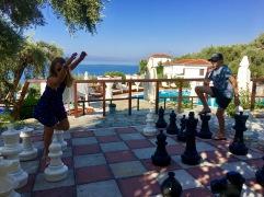 Giant fun at giant chess
