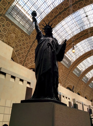 The Liberty statue at Musee d'Orsay. Photo via Wikimedia commons.