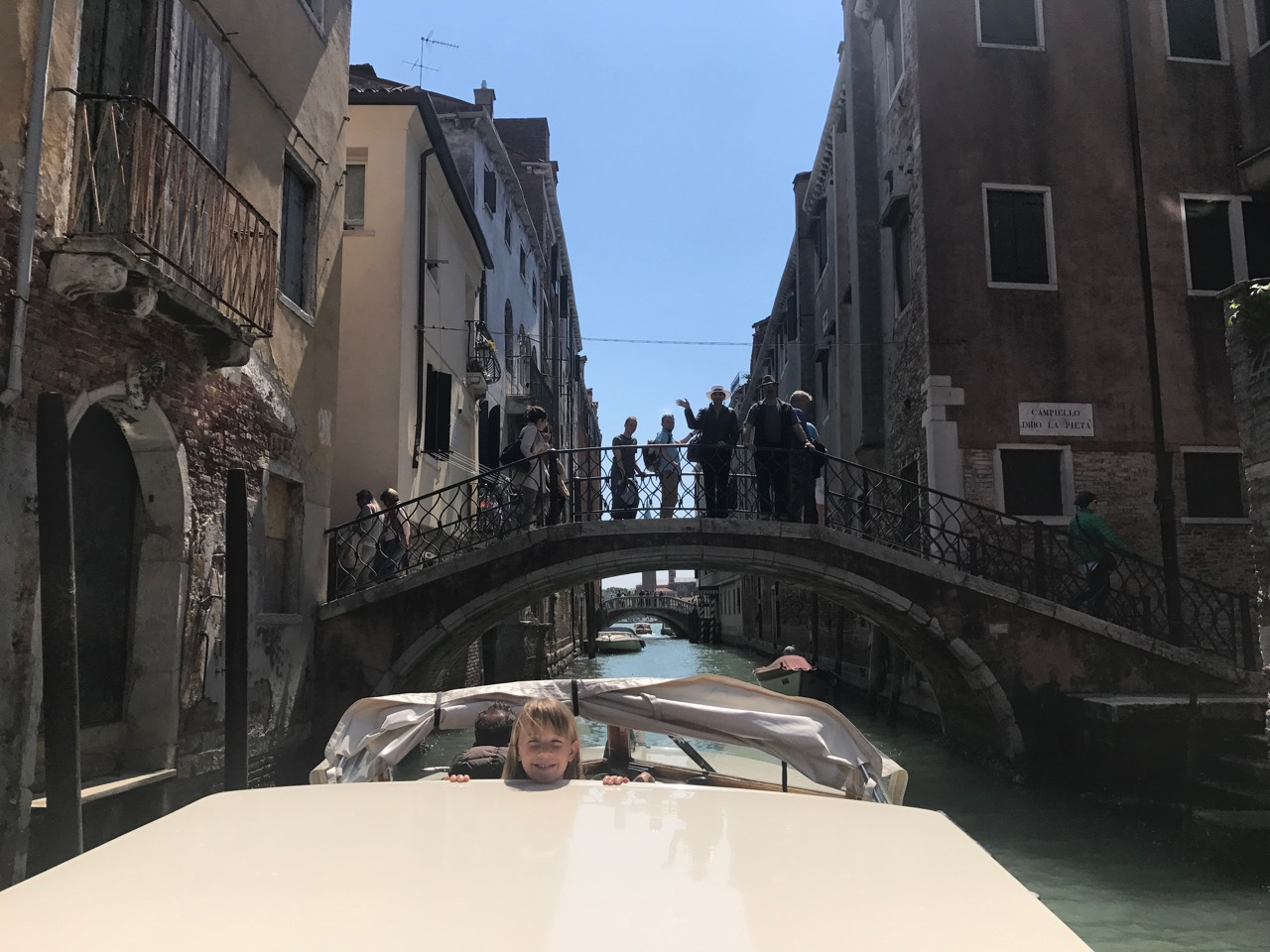 Getting places by boat in Venice is part of the fun.